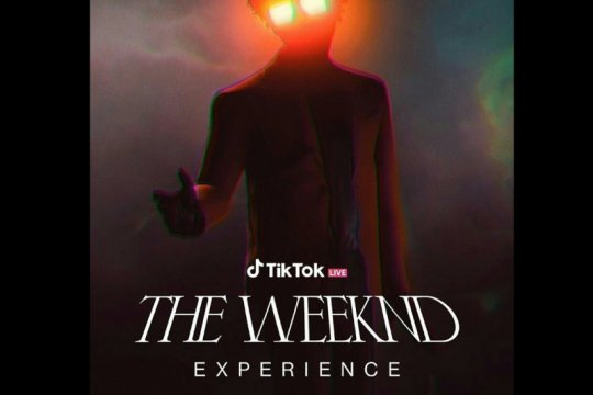 The Weeknd akan konser lewat TikTok untuk pertama kali