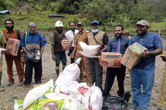 Kadistrik Tembagapura: Tak ada korban jiwa longsor di Aroanop