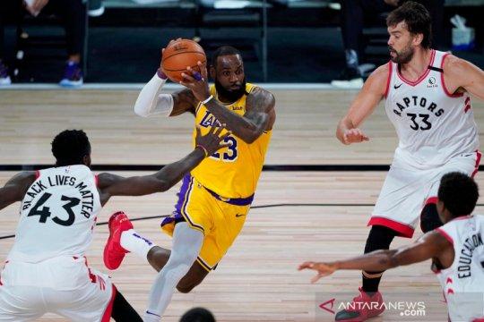 Kyle Lowry antar Raptors kalahkan LA Lakers 107-92