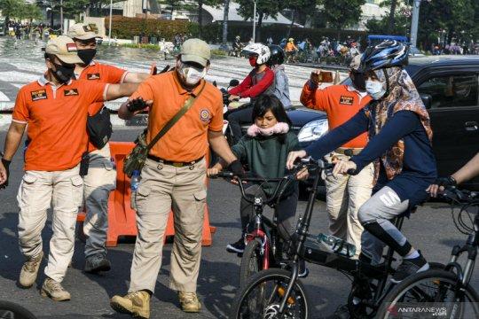 Jakarta Pusat dorong tes COVID-19 massal untuk Satpol PP