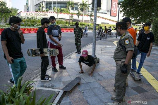 PSBB transisi fase 1 Jakarta diperpanjang keempat kalinya