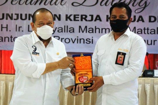 Ketua KPU Jatim: Kunjungan Ketua DPD RI bersejarah