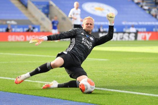 Kasper Schemeichel ingin Leicester City melangkah jauh di Liga Europa