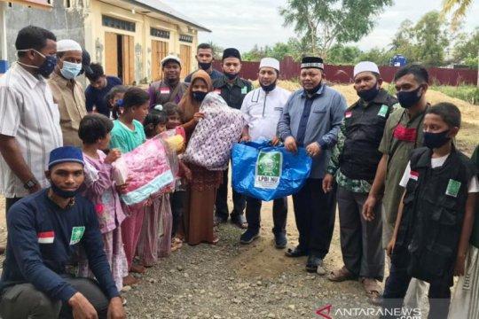 PWNU Aceh serahkan bantuan dan kurban untuk pengungsi Rohingya