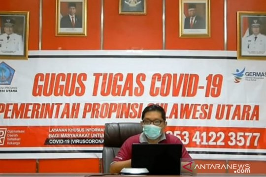 Angka kesembuhan COVID-19 di Sulut lampaui pasien yang dirawat
