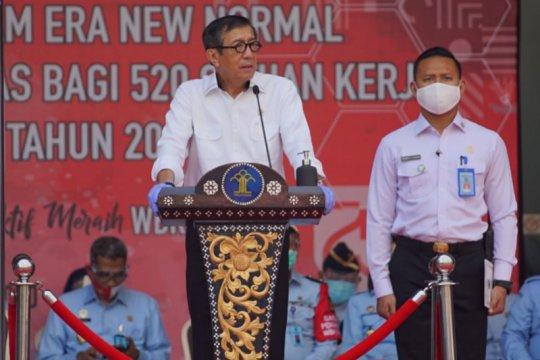 Kemenkumham usul 520 satuan kerja jadi wilayah bebas korupsi