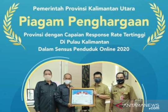 Kaltara sabet terbaik regional Kalimantan sensus penduduk daring