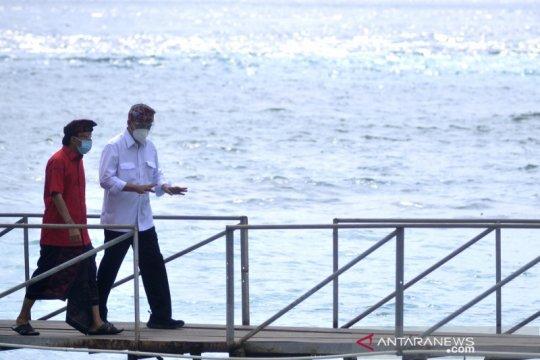 Menhub tinjau lokasi pembangunan Pelabuhan Penyeberangan Sampalan di Nusa Penida