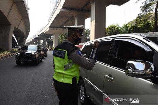 Aturan ganjil genap di Jakarta kembali diberlakukan