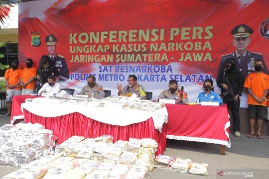 Delapan bulan,  Polda Metro Jaya ungkap 2.894 kasus narkoba