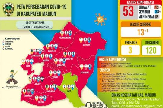 Pasien COVID-19 sembuh di Kabupaten Madiun bertambah tiga orang