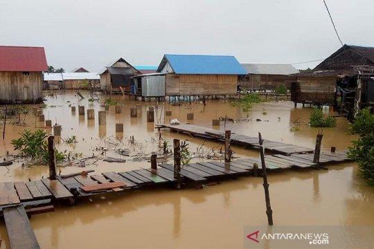 Puluhan rumah di Kabupaten Pulau Morotai terancam abrasi pantai