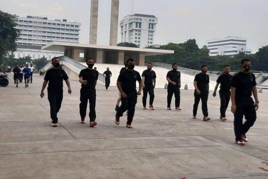 Pangkogabwilhan I ajak perwira dan prajurit joging di Lapangan Banteng
