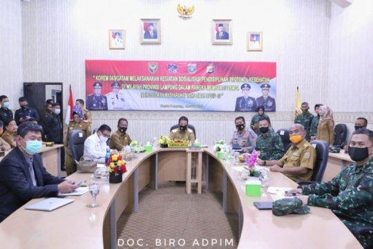 Gubernur Lampung bentuk tim penegakan disiplin protokol kesehatan