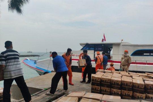 Kelurahan Pulau Pari kembalikan 63 paket bansos sembako