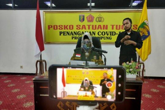 Dinkes Lampung catat tidak ada tambahan kasus positif COVID-19