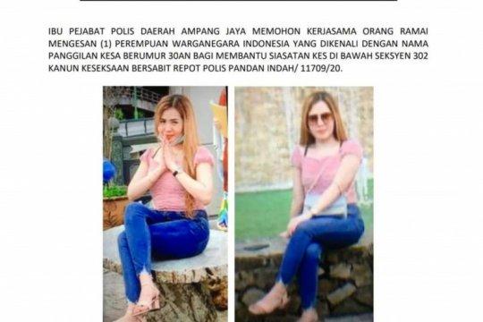 Polisi Malaysia cari wanita WNI terkait kasus pembunuhan