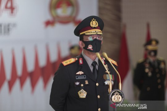 Brigjen Akhmad Wiyagus jabat Kapolda Gorontalo
