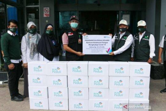 PLN - ACT Sumsel salurkan bantuan dampak COVID-19 ke tujuh kabupaten