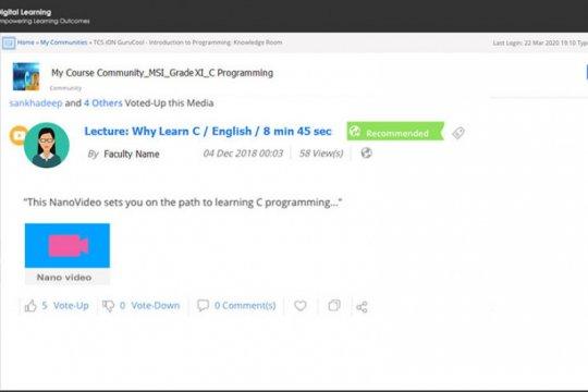 TCS berikan akses layanan belajar virtual gratis di Indonesia