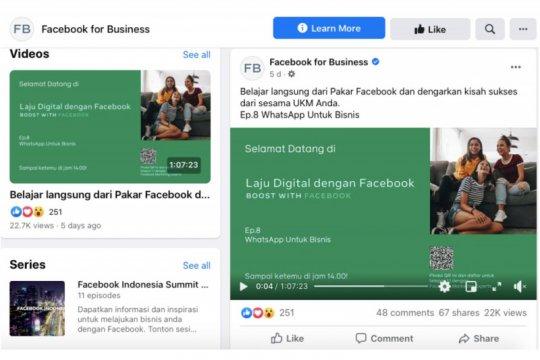 Facebook Laju Digital jangkau lebih banyak UKM selama pandemi