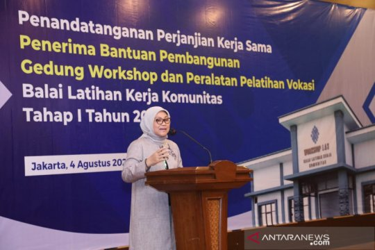 Menaker dorong pembangunan SDM dalam periode bonus demografi Indonesia