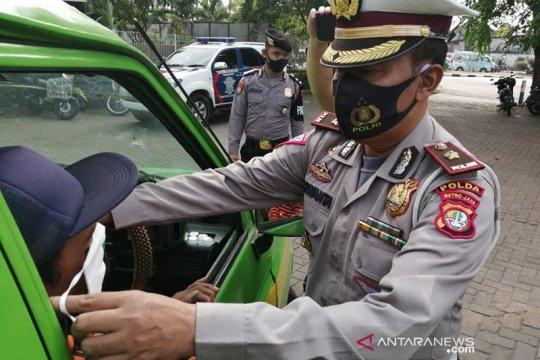 Polisi tilang 2.646 kendaraan di hari ke-13 Operasi Patuh Jaya 2020