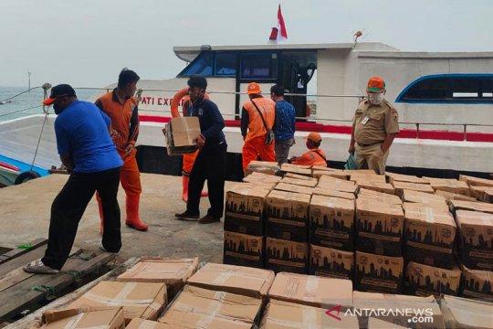 Bantuan sembako tahap delapan disalurkan di Kepulauan Seribu