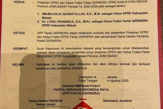 Ketua DPRD Kabupaten Bekasi diganti?