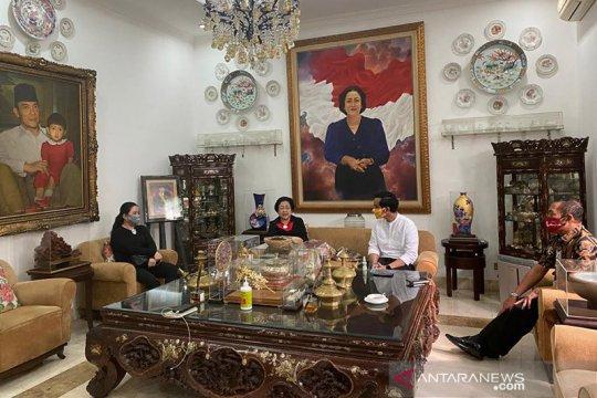 Megawati terima Gibran dan FX Hadi Rudyatmo di kediamannya
