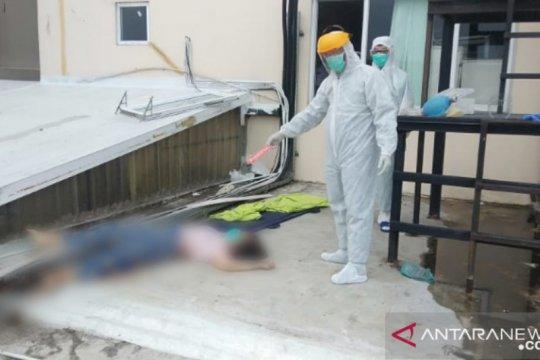 Pasien COVID-19 bunuh diri dari lantai 12 RS Royal Prima Medan