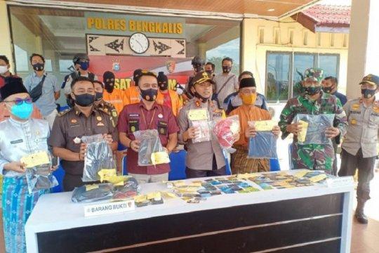 Polisi Bengkalis ringkus spesialis pembobol ATM gasak Rp365 juta