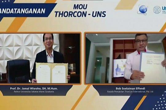 UNS - Thorcon kerja sama survei penerimaan masyarakat PLTT di Babel
