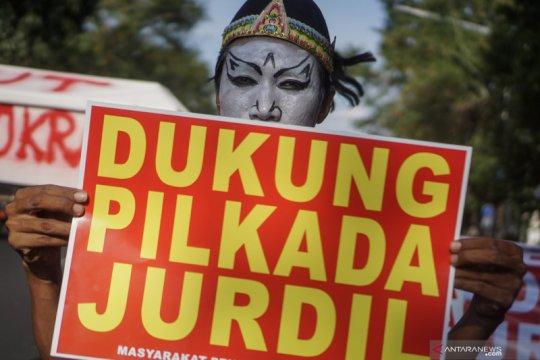 Aksi mendukung Pilkada damai