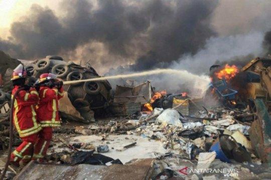Satgas Konga bantu evakuasi korban terdampak ledakan Beirut