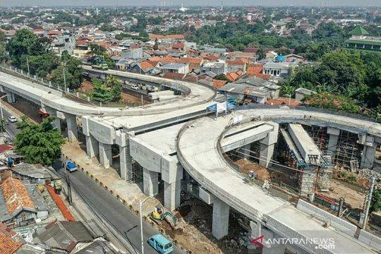Pekerjaan jalan layang Lenteng Agung dan Tanjung Barat sesuai progres