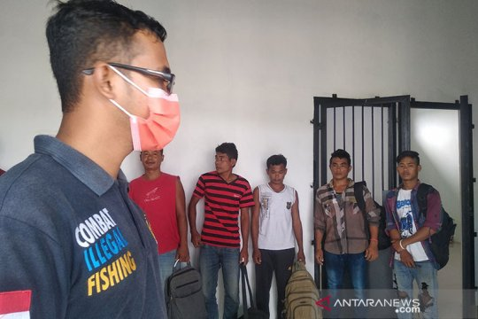 PSDKP Lampulo pulangkan sembilan nelayan Myanmar