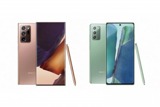 Samsung luncurkan Galaxy Note 20 dan versi Ultra