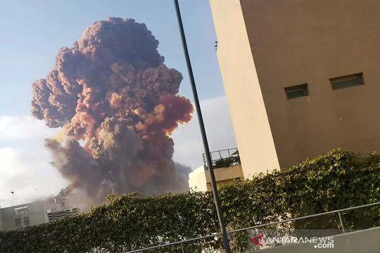 Ledakan besar di Beirut berasal dari 2.750 ton amonium nitrat
