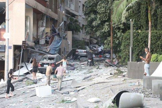 Setelah ledakan, persediaan gandum Lebanon tak cukup untuk sebulan