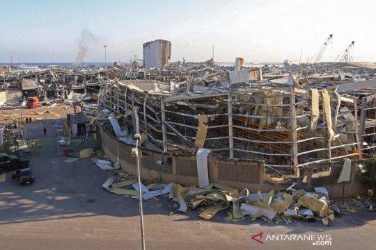 Dampak ledakan di Beirut