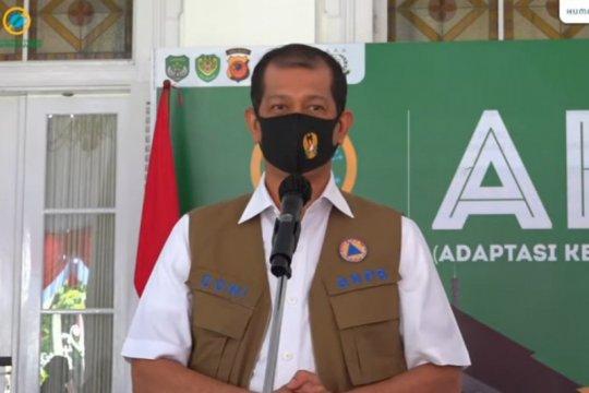 BNPB: Kepatuhan warga terhadap protokol kesehatan di bawah 50 persen