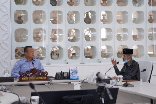 Menteri Edhy dorong pengembangan kawasan industri perikanan Baubau