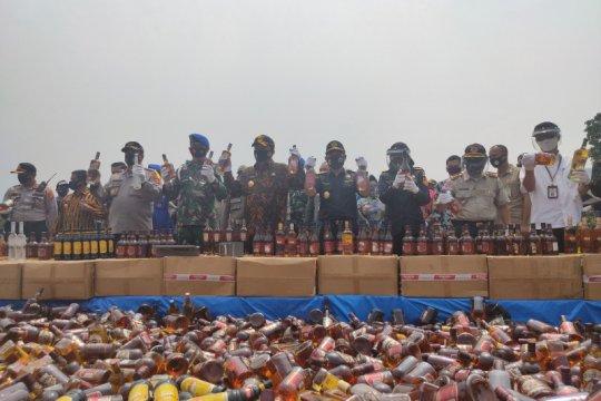 Bea Cukai musnahkan barang sitaan milik negara senilai Rp11,3 miliar