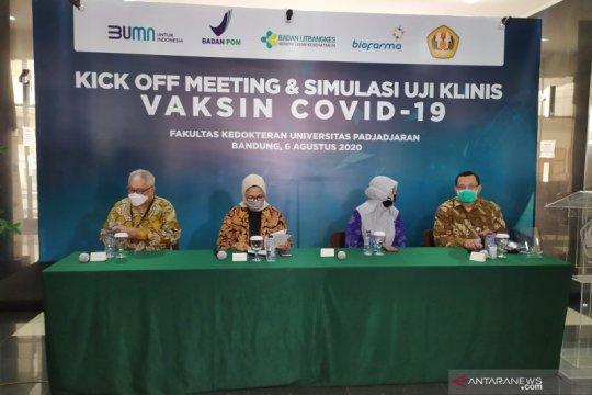 Tim Riset Vaksin COVID-19 Sinovac persilakan pejabat jadi relawan