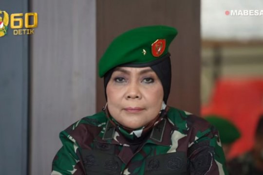 Direktur Hukum AD, perwira wanita naik pangkat jadi brigjen