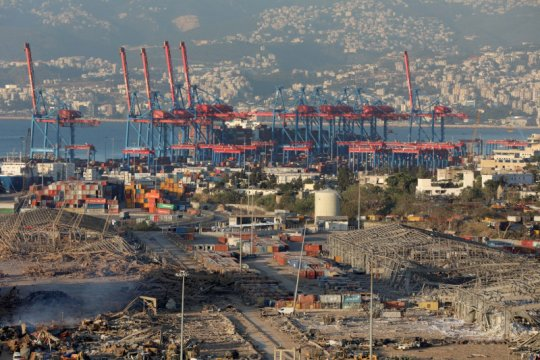 Sumber: Manajer pelabuhan Beirut ikut diamankan terkait ledakan
