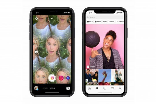 Instagram luncurkan Reels, fitur pesaing TikTok