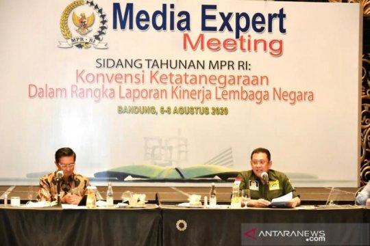 MPR: Sidang Tahunan 2020, lembaga negara serahkan laporan kinerja