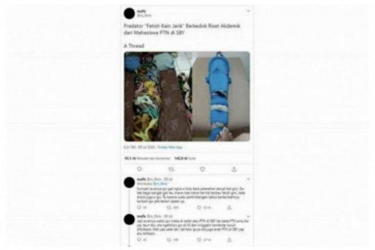 "Polisi tangkap pelaku ""fetish"" kain berkedok riset di Kapuas"